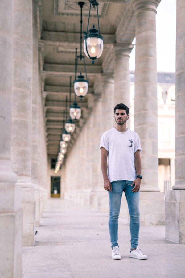 Shooting Itinéraire Louvre – Parisian Vibe